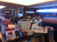 Book signing at Mysterious Galaxy bookstore in Redondo Beach, CA