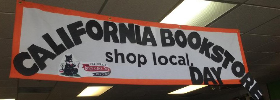 First Annual California Bookstore Day: Book signing